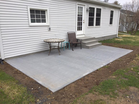 After - Patio Install